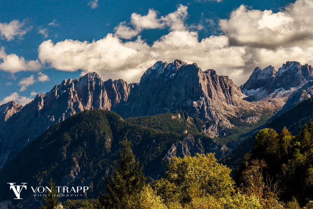 Cortina D' Ampezzo, Photo of the Italian Dolomites.