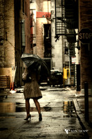"""Rainy Ally"" by Von Trapp Photography 2014"