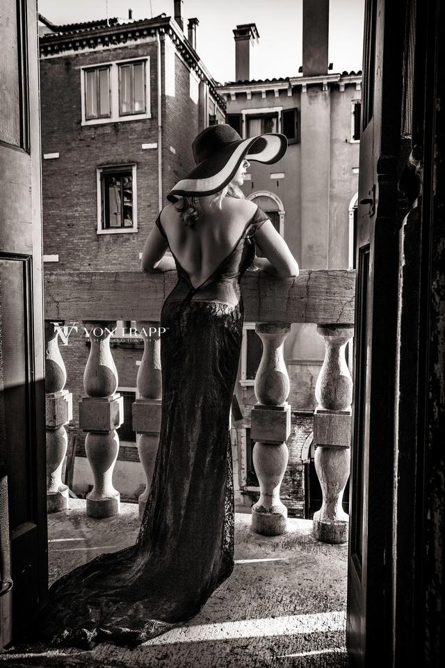 Fashion photograph taken in Italy by Austin-San Antonio Boudoir, Glamour, Fashion photographer Von Trapp Photography.
