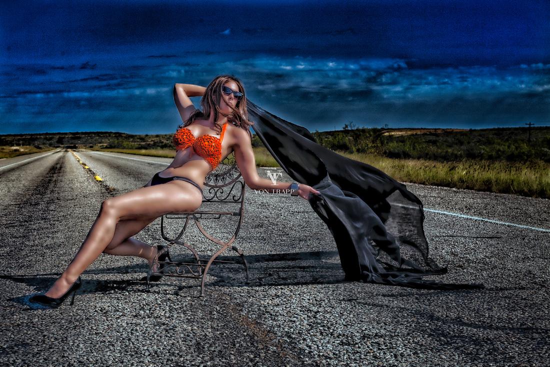 Glamour Editorial Photography | Houston Texas Fine Art Glamour Photography by Von Trapp Photography.