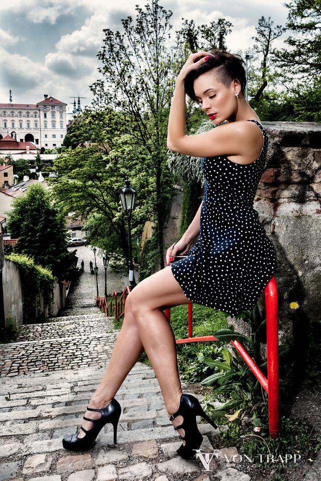 Fashion Photo Shoot, Prague, Houston-Austin Texas Fashion Photographer on location.