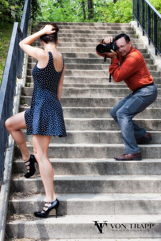 Texas Fashion-Glamour Photographer photographs Playboy model Diana Cavojcova in Prague.