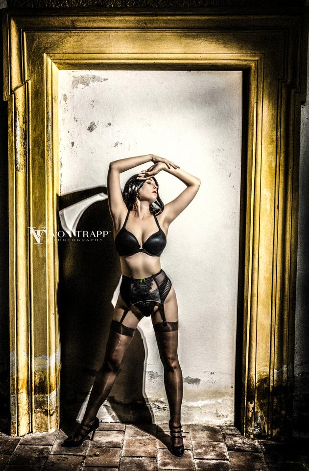 Sexy fashion photo, San Antonio Texas Fashion Photographer shoots in Germany.